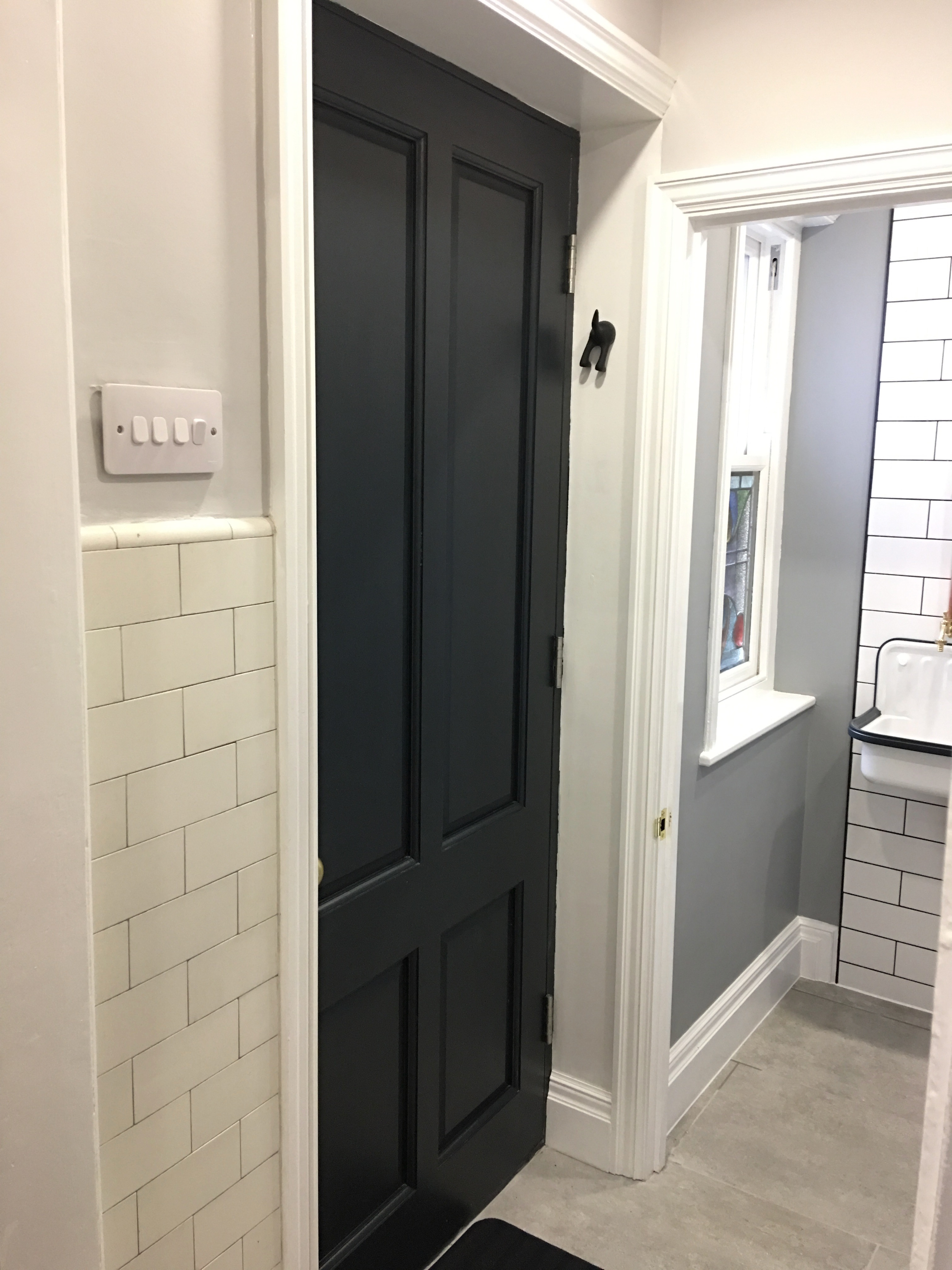 Back door and period lining