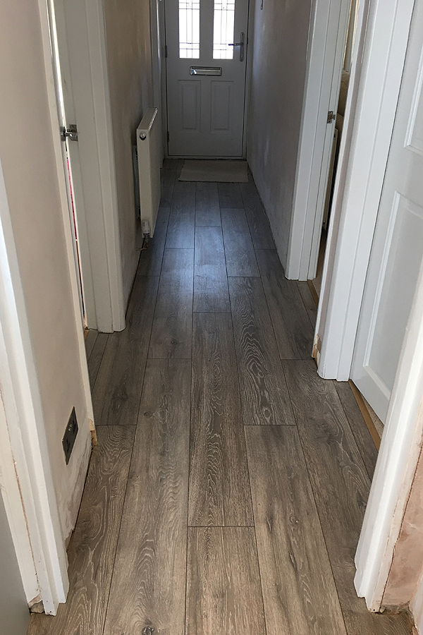 Laminate flooring installed in Leeds