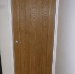 New Oak doors fitted in Huddersfield
