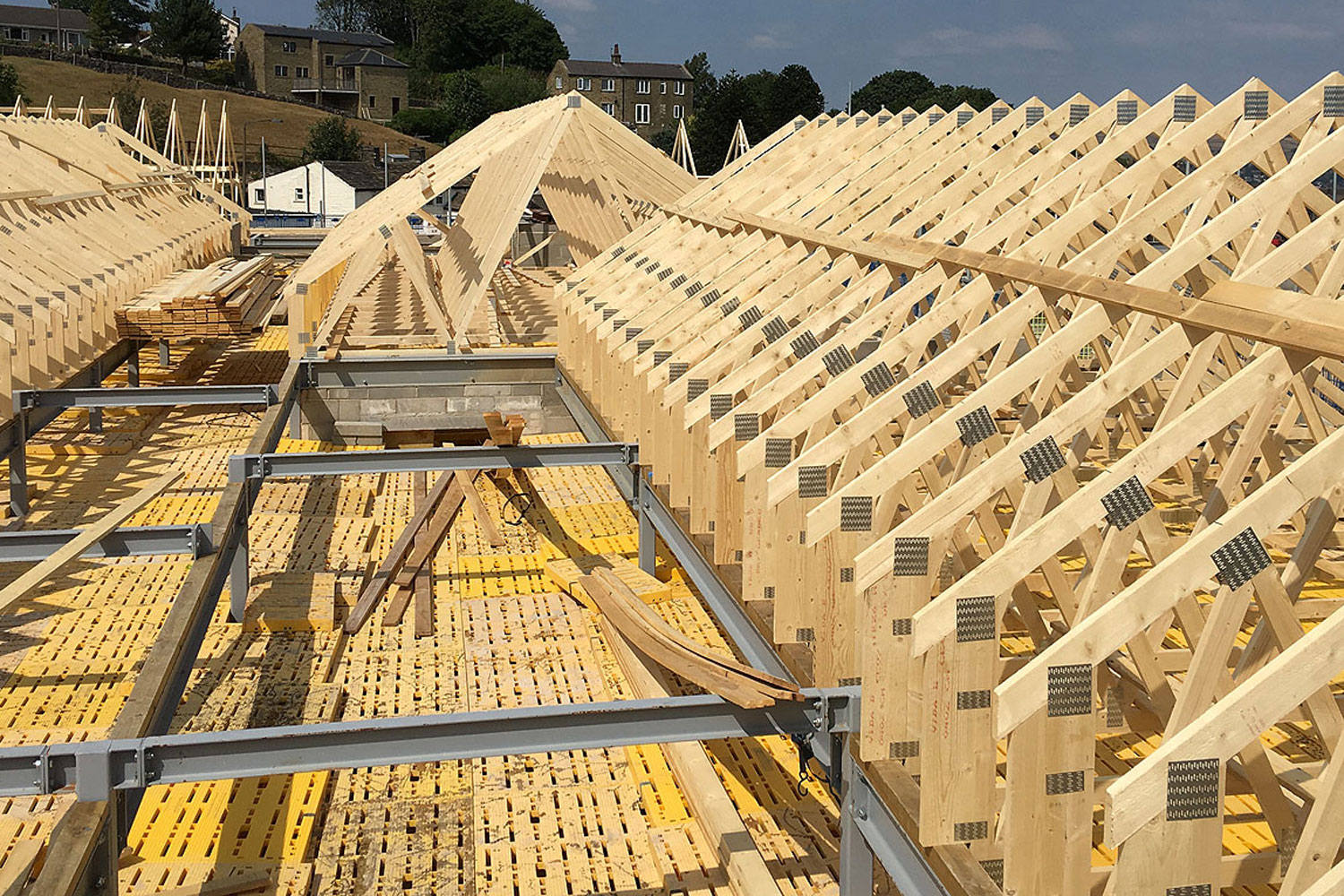 Truss Roof Carpenters in Yorkshire and Lancashire