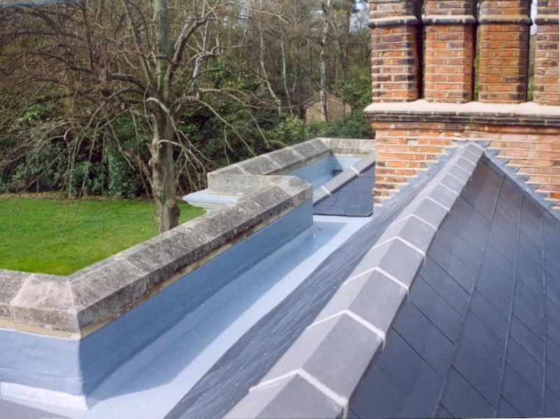 TriRoof fibreglass roof gully by TriCel