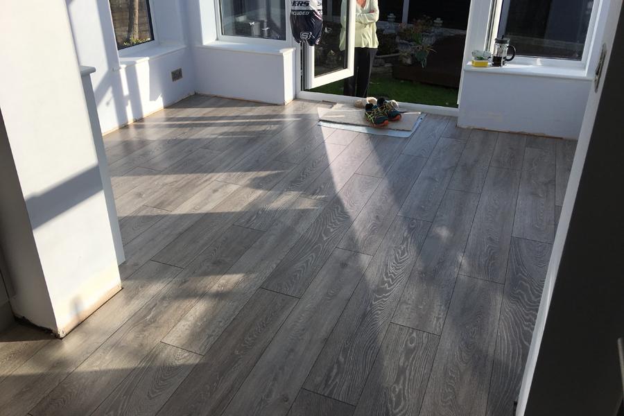 Laminate flooring installed in Leeds